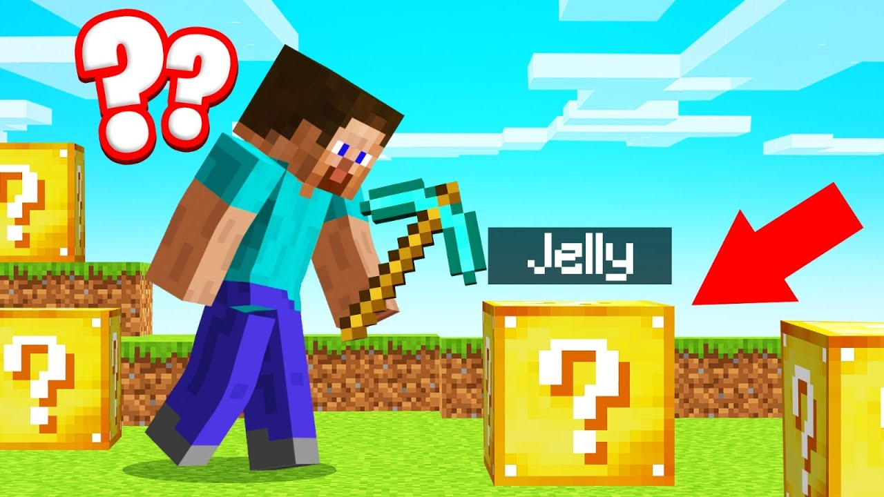 Playing LUCKY BLOCK PROP HUNT In MINECRAFT!