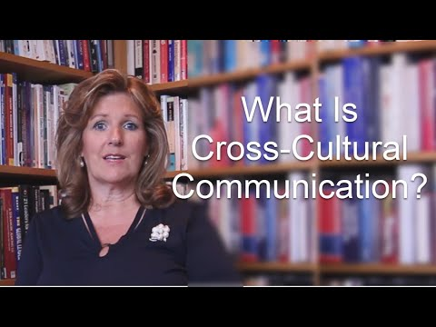 What is cross cultural communication 01 01 2012