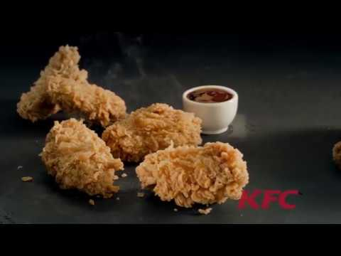 KFC - курица в форме курицы