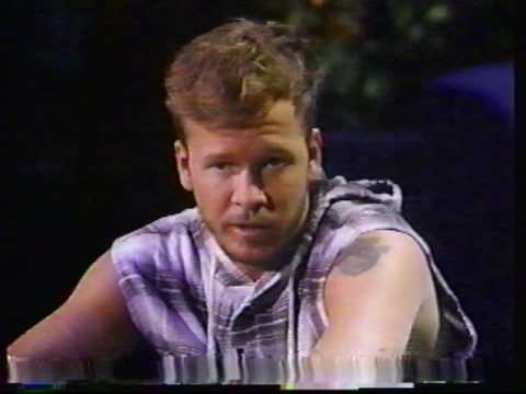 Donnie Wahlberg on The Arsenio Hall Show  YouTube