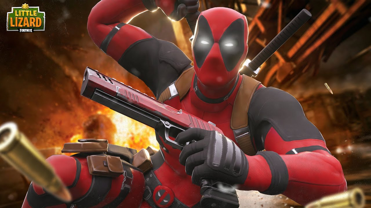 DEADPOOL IS HERE!!! - Fortnite Short Films