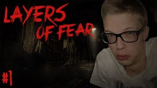 DIT SPEL IS TE CREEPY! - Layers of Fear #1 - Horror