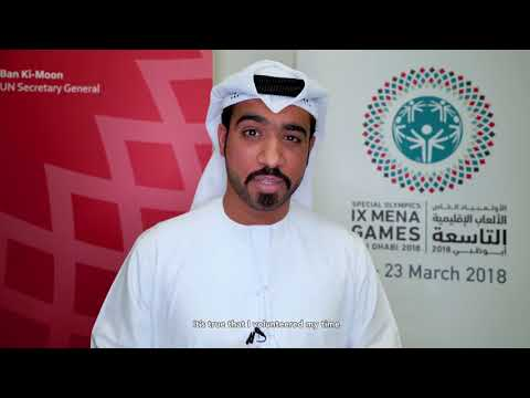 Why Volunteer for the Special Olympics Games in Abu Dhabi?