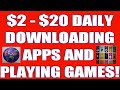 5 Free Money Making Apps That Pay You To Download Apps And Pay You For Downloading Games! Free Money