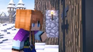 Minecraft анимация Холодное сердце на русском