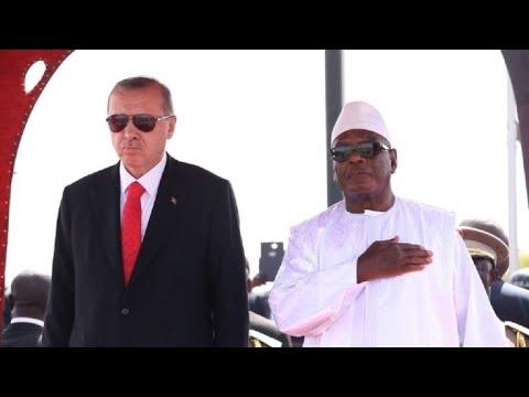 Turkey's Erdogan arrives in Mali