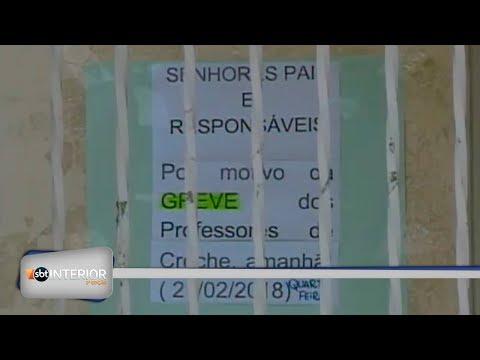 Professores da rede municipal de Regente Feijó entraram em greve