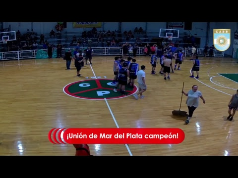 Argentino U19 Masculino de Clubes: Union de Mar del Plata vs. Libertad de Sunchales