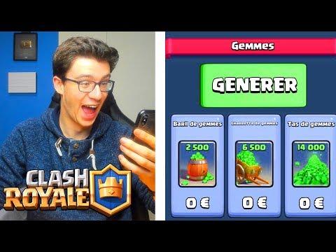 Clash Royale UN VRAI GENERATEUR DE GEMMES ?!