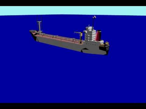 VLCC grounding - Bathymetry Survey by PT Bintang Subsea Indonesia