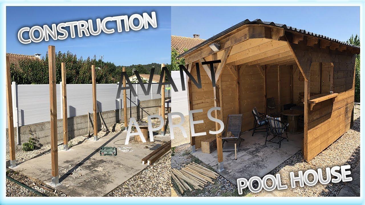 Construire Un Pool House construction pool house - maison travaux diy