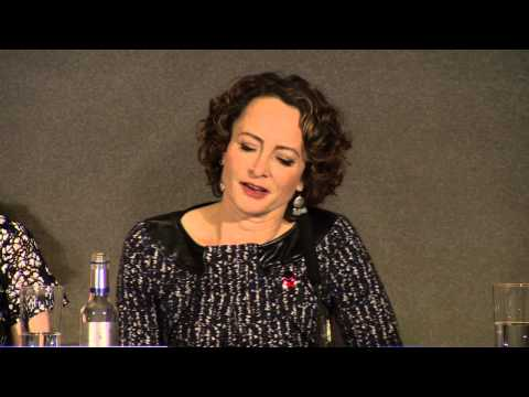 """THG: Mockingjay - Part 1"" International Press Conference - Nina Jacobson"