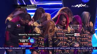 Sacred Riana, Ilusionis Asal Indonesia, Juara Asia'S Got Talent 2017 - NET 12