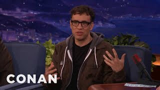 Fred Armisen Was A Very Disturbed Little Boy - Conan on TBS