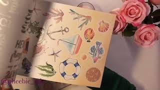 Haul Action   Nouveaux Luxe Paper blocks   Loisirs créatifs 🐚⛱🏖🏝🐙🦑🐢🐚🦎🦀🧜🏾♀️🐡🐠🐟🐬🧜♀️