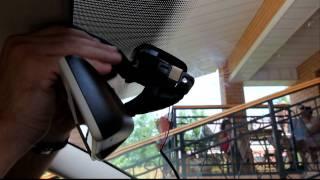 Шкода суперб установка видеорегистратора