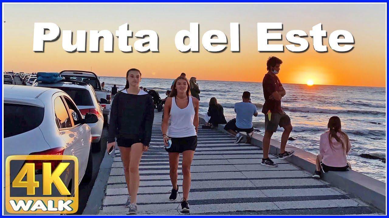 【4K】WALK Port Punta del Este URUGUAY 4K video UY Travel vlog