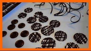 5 Schokoladen dekorationen selber herstellen - 5 Leckere Dekorationen aus Schokolade - Kuchenfee