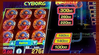 👑 CYBORG TOWERS JACKPOT 👑 Maximale Stufe! Risiko Plus ➡️ New Games - Eure Meinung? ⬇️ Kommentiert ⬇️