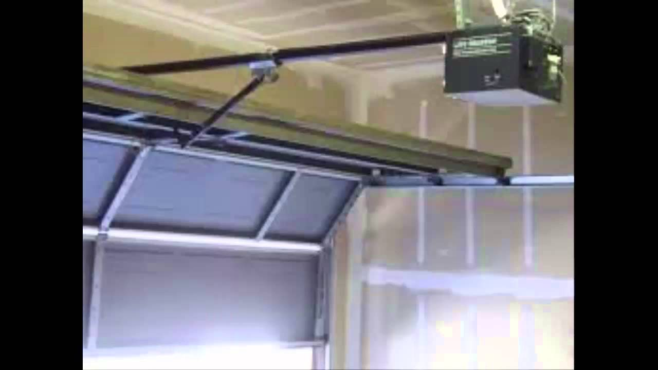 Clicker Garage Door Opener Youtube