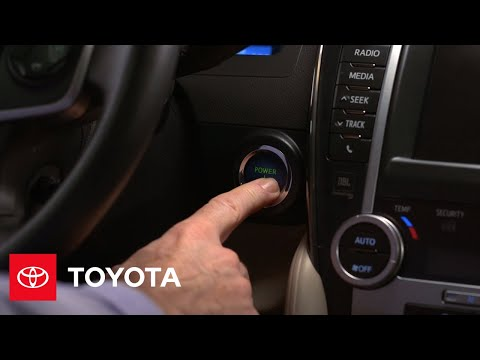2012 Camry Hybrid How-To: Headlamps Auto On/Off | Toyota
