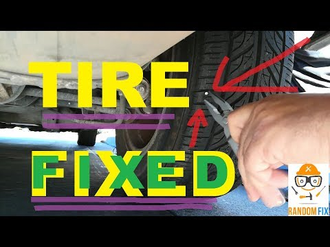 ▶️how-to-fix-a-flat-tire-on-the-spot-(-no-need-to-jack-your-car-)-step-by-step-directions