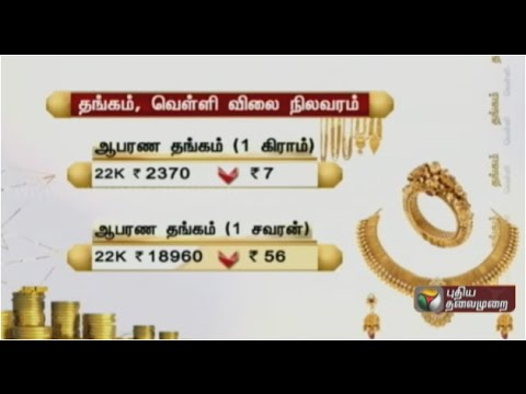 Gold Rate In Chennai Today You