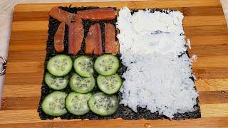 Знать бы Раньше Купил бы больше Филадельфия Треуголки Новый рецепт Вкусных Суши Ролов