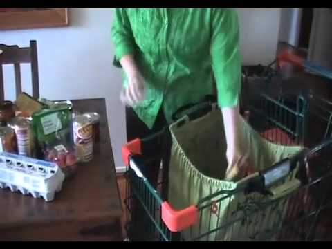 Trolley Buddy is an EcoFriendly Reusable Shopping Bag