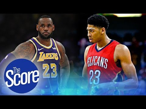 """""""Players Will Take Pay Cuts to Join Lebron James and Anthony Davis""""   The Score"""