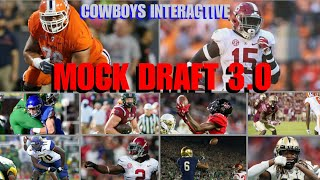 COWBOYS INTERACTIVE MOCK DRAFT 3.0: You Help Decide Our 2018 Draft & Then WIll See Them In Action!!!
