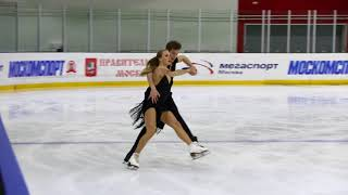 Виктория Синицина - Никита Кацалапов, короткий танец сезона 2017-18