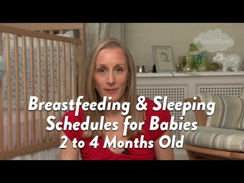 Breastfeeding and Sleeping Schedules for Babies 2 to 4 Months Old - schedules for babies