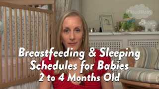 Breastfeeding and Sleeping Schedules for Babies 2 to 4 Months Old | CloudMom
