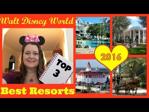 ♥ Walt Disney World RESORTS 2016 - Best POOL, Best Locations, Best Value !