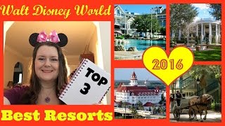 ♥ BEST Walt Disney World RESORTS  - Best POOL, Best Locations, Best Value !