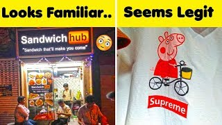 The Funniest Knock Off Brands 😂 (New!)