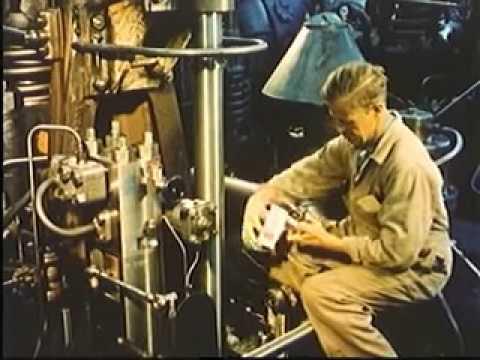 2 Stroke Marine Diesel Engine MAN B&W  Operating Principle Every engineer must see this  marine worl