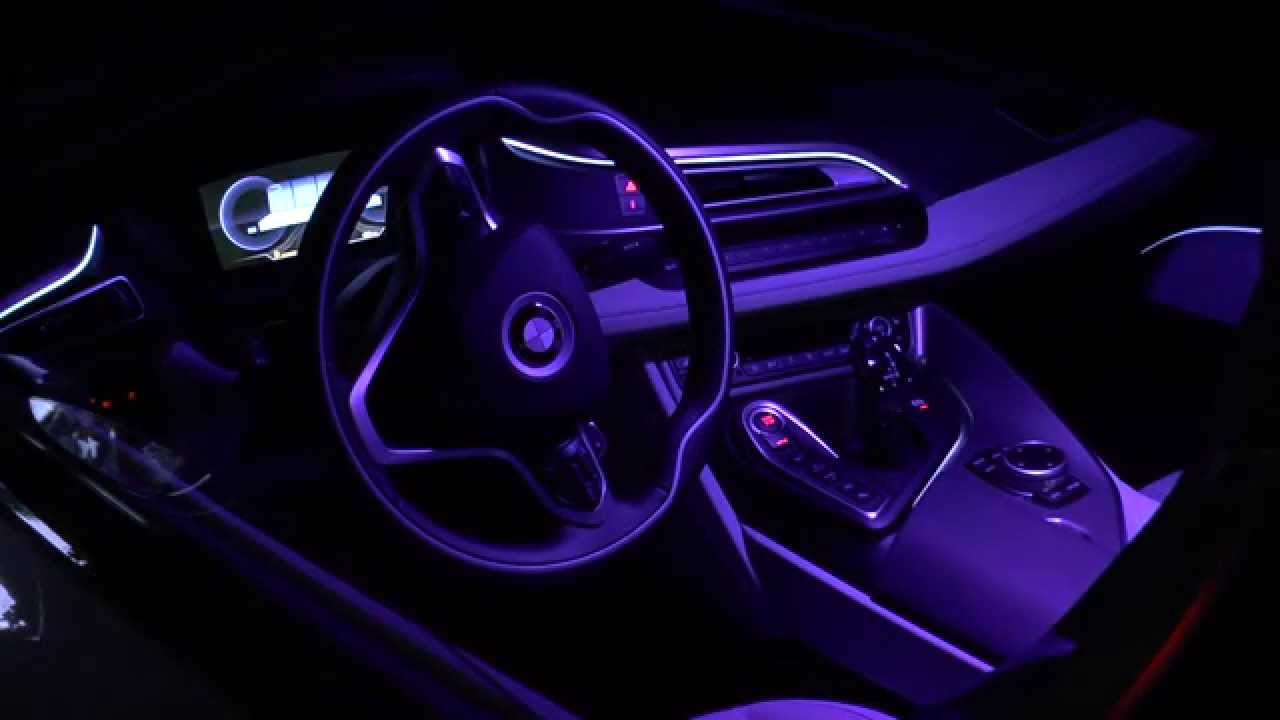 Bmw I8 Interior Illumination Light Design Innenraum Lichtdesign