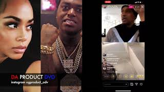 Philly Og Gilly Da Kid Knocking Off Kodak Black Head For Dissing Nipsey Hussle GF...DA PRODUCT DVD