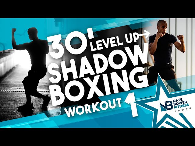 40 Minute Level Up Boxing Workout //Shadow Boxing // HIIT // Conditioning // NateBowerFitness