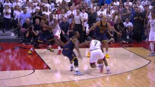 Kyle Lowry seals the win | Cavaliers vs Raptors | NBA PLAYOFFS | 5.23.16