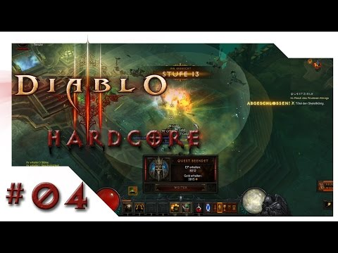 Diablo 3 - RoS Hardcore - 04 [S SW K] Handkäs' mit Musik [Let´s Play HD Deutsch]
