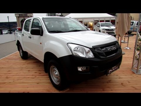 2014 Isuzu D-Max Double Cab Basic - Exterior And Interior Walkaround - 2013 Frankfurt Motor Show