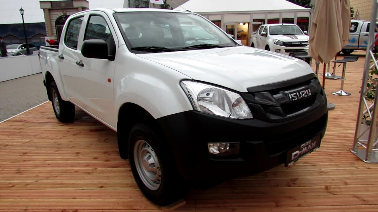 D Max Exhibition Models : Isuzu d max double cab basic exterior and interior