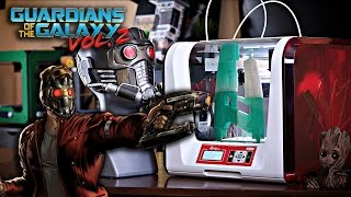 Making Star-Lord's Element Gun | Guardians of The Galaxy | da Vinci Jr. 2.0 Mix