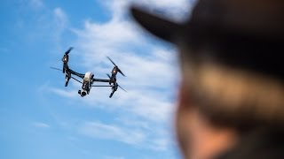 Flying the DJI Inspire 1 Quadcopter with Adam Savage