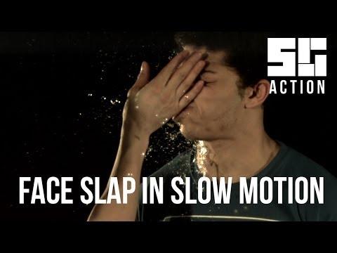 Face Slap at 1500 fps!