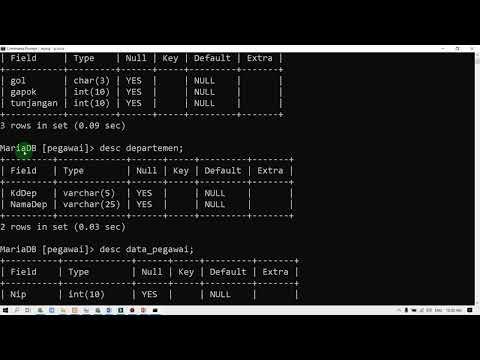 Database - Join Di Dalam Mysql Begini Caranya....