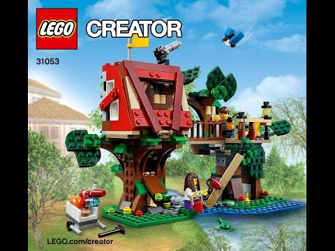 LEGO Creator 31053 Treehouse Adventures 3 in 1 Instructions DIY Book 1